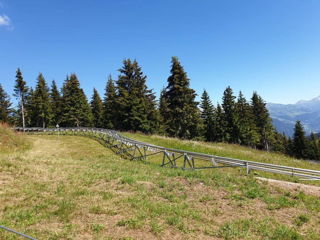 rails luge Mountain Twister les saisies savoie