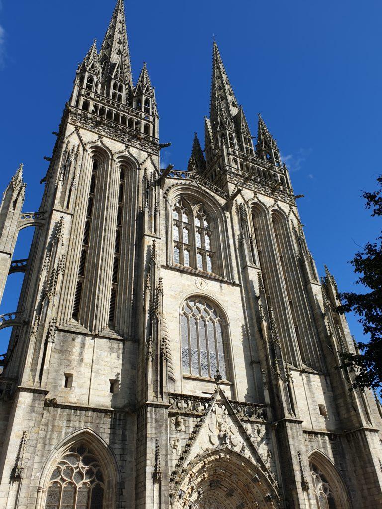 cathédrale saint corentin quimper