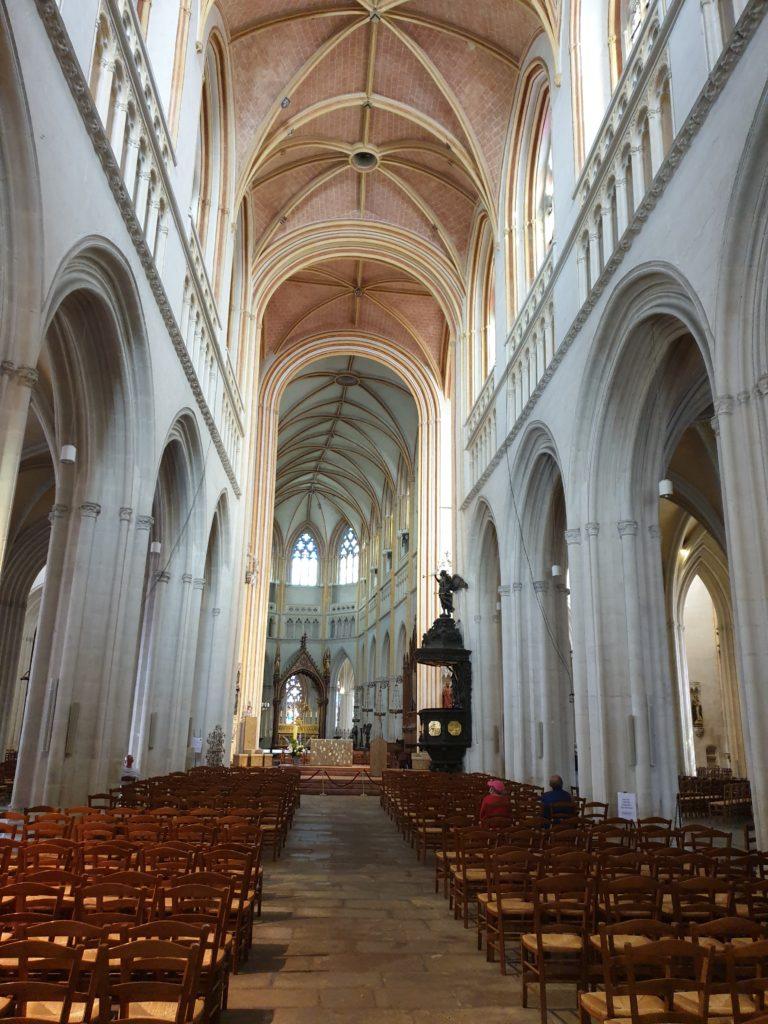 nef cathédrale saint corentin quimper