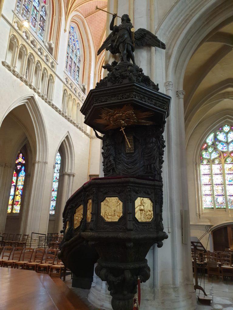 chair cathédrale saint corentin quimper