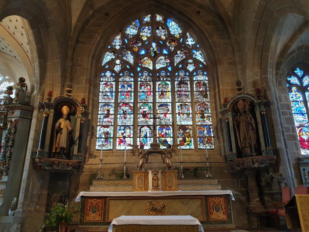 vitrail église saint ronan