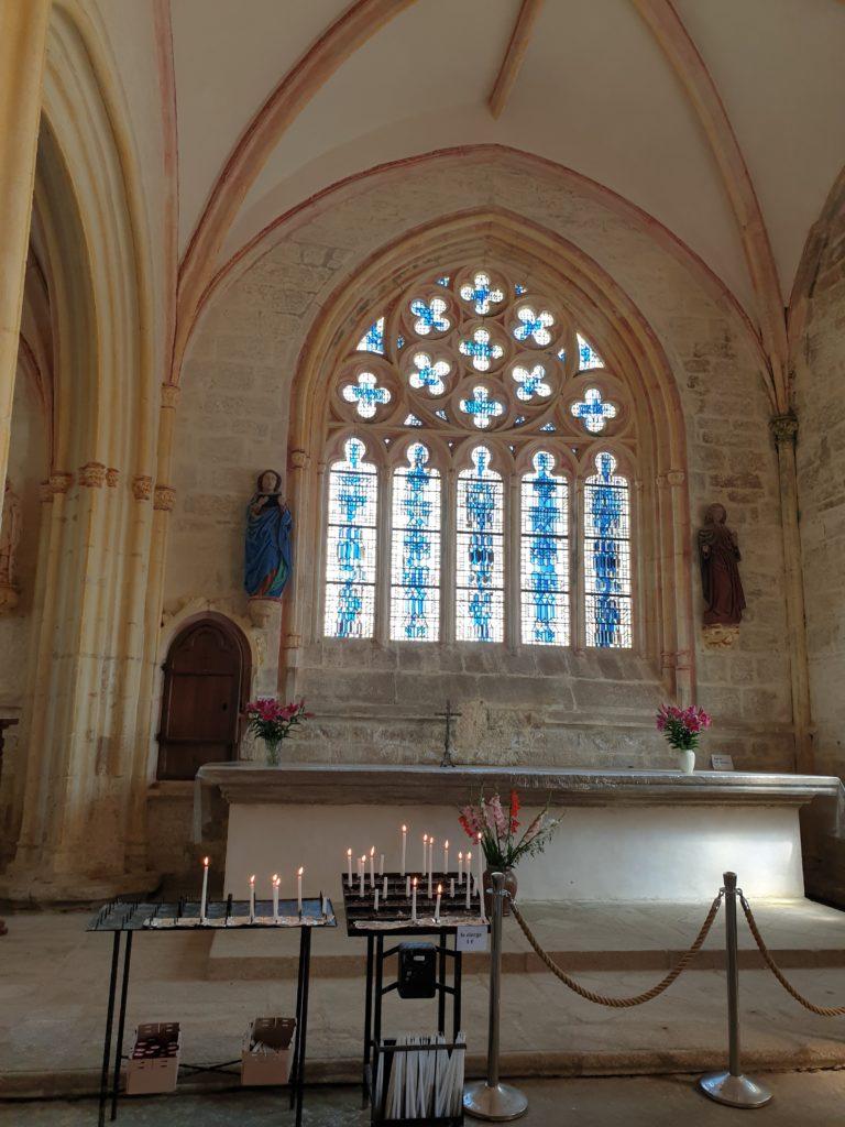 chapelle notre-dame-de-tronoen interieur