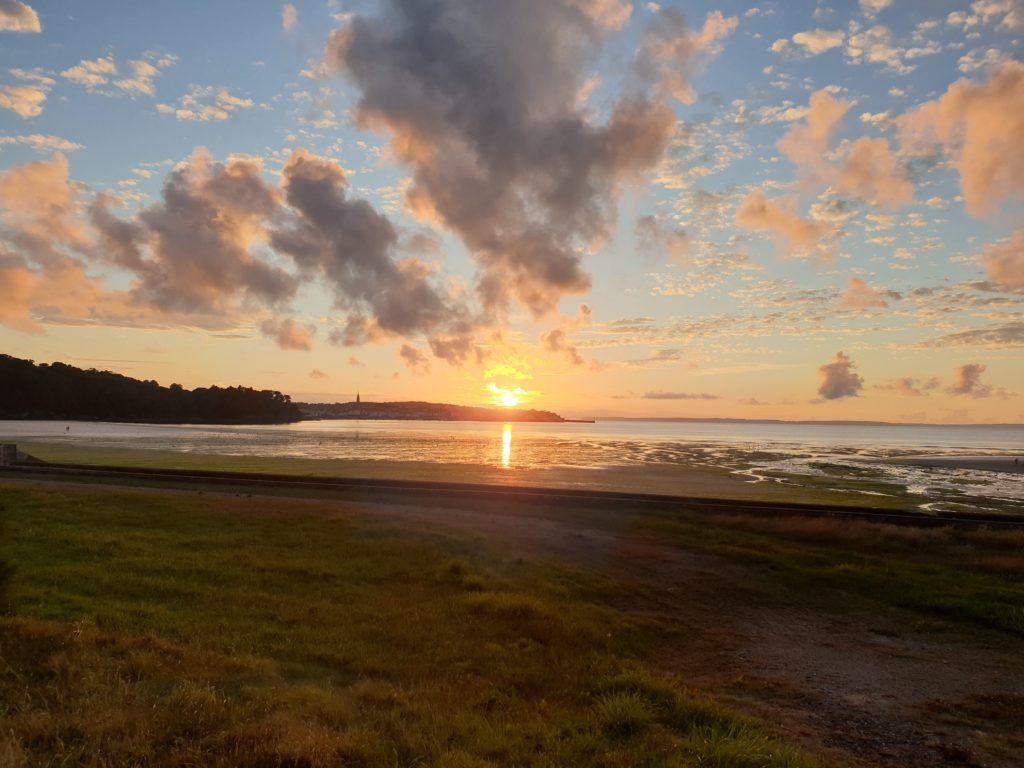 coucher soleil Douarnenez