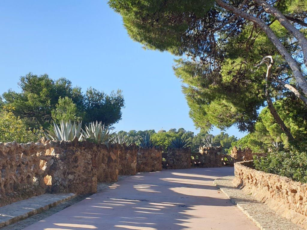 jardins meditérranéens parc Guell Barcelone