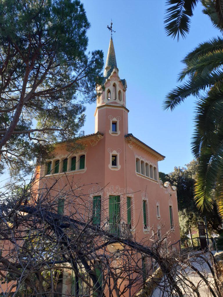 maison-musé de Gaudi parc Guell Barcelone