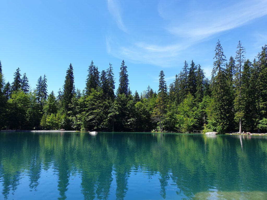 lac vert passy haute savoie