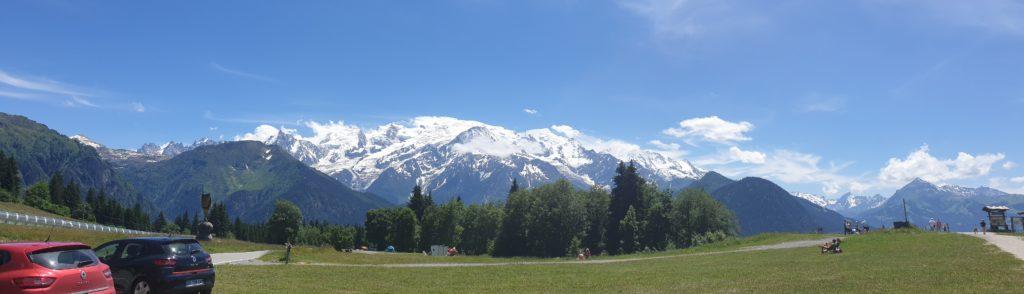panoramique mont blanc passy